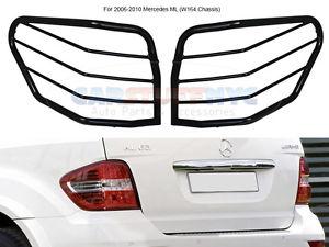US ライトガード プロテクター06-2010 Mercedes ML 320 350 450 500 550 W164テールライトガードプロテクターカバー